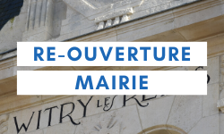 reouverture mairie public witry